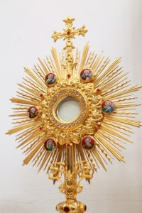 Exposition of the Blessed Sacrament @ Chapel